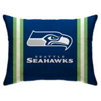 NFL Seattle Seahawks Plush Standard Bed Pillow