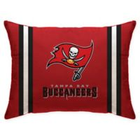 NFL Tampa Bay Buccaneers Plush Standard Bed Pillow