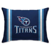 NFL Tennessee Titans Plush Standard Bed Pillow