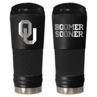 University of Oklahoma Stealth 24 oz. Powder Coated Stealth Draft Tumbler