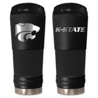 Kansas State University Stealth 24 oz. Powder Coated Stealth Draft Tumbler