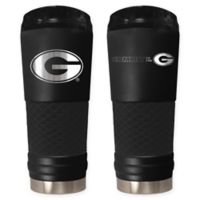 University of Georgia Stealth 24 oz. Powder Coated Stealth Draft Tumbler