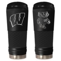 University of Wisconsin-Madison Stealth 24 oz. Powder Coated Stealth Draft Tumbler