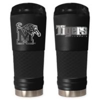 University of Memphis 24 oz. Powder Coated Stealth Draft Tumbler