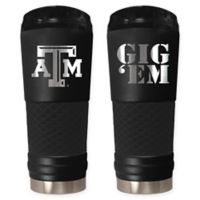 Texas A&M University Stealth 24 oz. Powder Coated Stealth Draft Tumbler