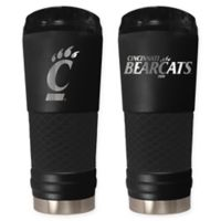 University of Cincinnati Stealth 24 oz. Powder Coated Stealth Draft Tumbler