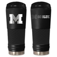 University of Michigan Stealth 24 oz. Powder Coated Stealth Draft Tumbler