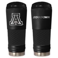 University of Arizona Stealth 24 oz. Powder Coated Stealth Draft Tumbler