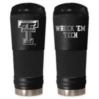Texas Tech University Stealth 24 oz. Powder Coated Stealth Draft Tumbler