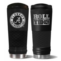 University of Alabama Stealth 24 oz. Powder Coated Stealth Draft Tumbler