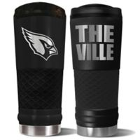 Arizona Cardinals 24 oz. Powder Coated Stealth Draft Tumbler