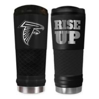 Atlanta Falcons 24 oz. Powder Coated Stealth Draft Tumbler