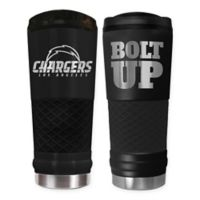 Los Angeles Chargers 24 oz. Powder Coated Stealth Draft Tumbler