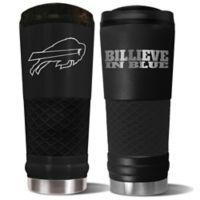 Buffalo Bills 24 oz. Powder Coated Stealth Draft Tumbler