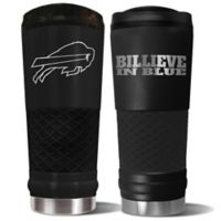 Buffalo Bills 24 oz. Powder Coated Stealth Draft Tumbler