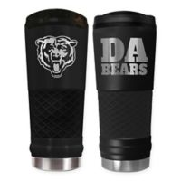 Chicago Bears 24 oz. Powder Coated Stealth Draft Tumbler