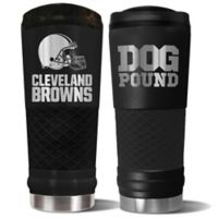 Cleveland Browns 24 oz. Powder Coated Stealth Draft Tumbler