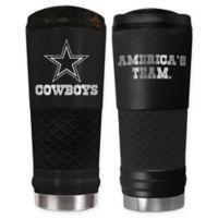 Dallas Cowboys 24 oz. Powder Coated Stealth Draft Tumbler