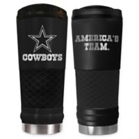 Dallas Cowboys 24 oz. Powder Coated Stealth Draft Tumbler