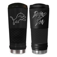 Detroit Lions 24 oz. Powder Coated Stealth Draft Tumbler