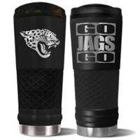 Jacksonville Jaguars 24 oz. Powder Coated Stealth Draft Tumbler