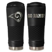 Los Angeles Rams 24 oz. Powder Coated Stealth Draft Tumbler