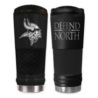 Minnesota Vikings 24 oz. Powder Coated Stealth Draft Tumbler