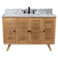 Avanity™ Harper 49-Inch Freestanding Single Bathroom Vanity in Natural Teak