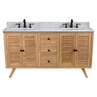 Avanity™ Harper 60-Inch Freestanding Double Bathroom Vanity in Natural Teak