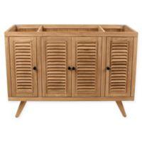 Avanity™ Harper 48-Inch Freestanding Single Bathroom Vanity Cabinet in Natural Teak