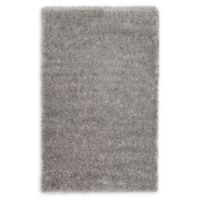 Luxe Solo 3'3 x 5'3 Shag Area Rug in Grey