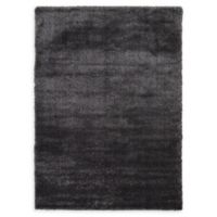 Luxe Solo 7' x 10' Shag Area Rug in Black