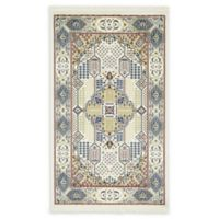 Liverpool Nain 3' x 5' Area Rug in Ivory