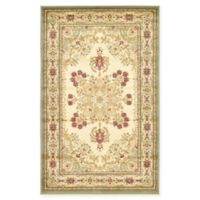 Louis Versailles 3'3 x 5'3 Area Rug in Cream