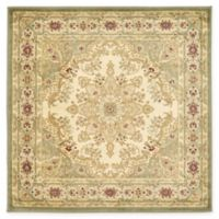 Louis Versailles 4' x 4' Area Rug in Cream