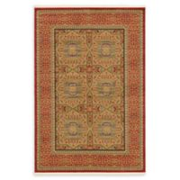 Unique Loom Lincoln Palace 6' X 9' Powerloomed Area Rug in Red