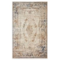 Unique Loom Lincoln Villa 5' X 8' Powerloomed Area Rug in Beige