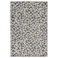 Unique Loom Versailles 6' x 9' Area Rug in Dark Grey