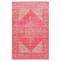 Unique Loom Stockholm 5' x 8' Area Rug in Pink