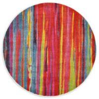 Unique Loom Lecington Lyon 6' Round Multicolor Area Rug