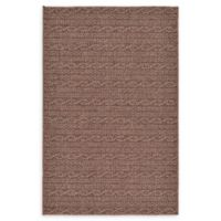 Unique Loom Links 3' x 5' Indoor/Outdoor Area Rug in Brown
