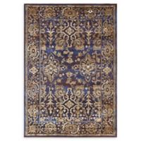 Unique Loom Lexington 7' x 10' Area Rug in Dark Blue
