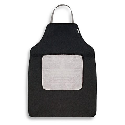 Microdry® Do-It-All Apron with Detachable Towel in Black