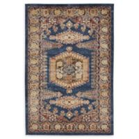 Unique Loom Larissa Arcadia 4' x 6' Area Rug in Dark Blue