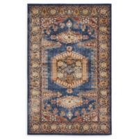 Unique Loom Larissa Arcadia 5' x 8' Area Rug in Dark Blue