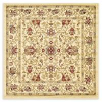Unique Loom Lawrence Agra 4' X 4' Powerloomed Area Rug in Cream