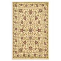 Unique Loom Lawrence Agra 5' X 8' Powerloomed Area Rug in Cream
