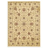 Unique Loom Lawrence Agra 7' X 10' Powerloomed Area Rug in Cream
