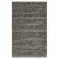 Unique Loom Calabasas Solo 3'3 x 5'3 Power-Loomed Area Rug in Grey