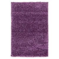 Unique Loom Calabasas Solo 2'2 x 3' Power-Loomed Accent Rug in Violet